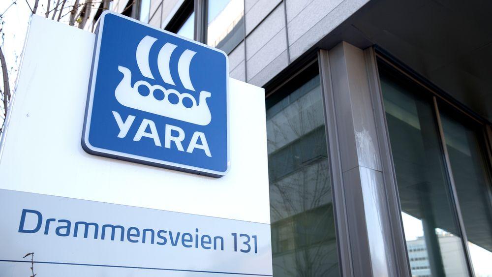Gjødselselskapet Yara i Drammensveien 131 i Oslo.