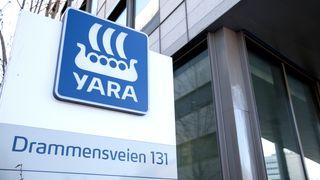 Russerkulda og høye energipriser svekker Yaras resultater