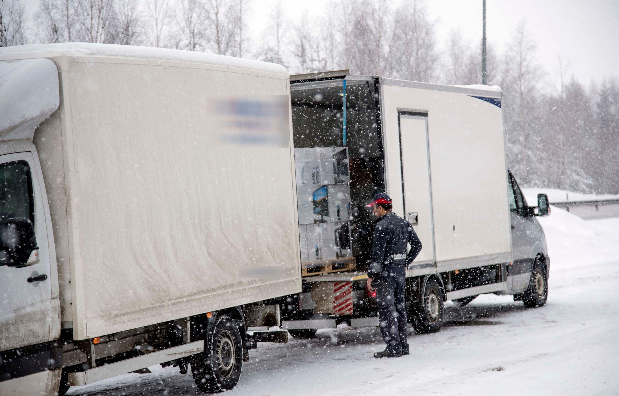 tillatt totalvekt lastebil