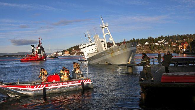 Kypros-rederier slipper å demontere norsk teknologi fra dette skipet
