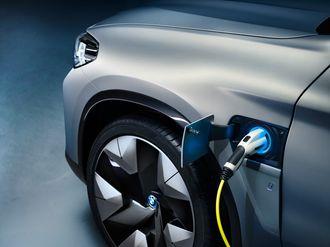 Bilen kan hurtiglades med 150 kilowatt.