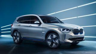 Konseptutgaven av den kommende BMW iX3.