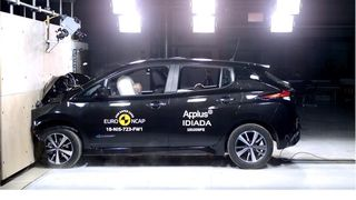 Nissan Leaf imponerer i kollisjonstest