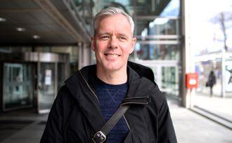 Per Valebrokk, her fra da han var sjefredaktør i E24. Nå er han PR-rådgiver i Storm Communications.