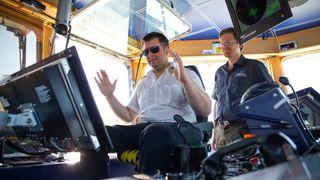 Nå er MF Folgefonn verdens første fartøy med automatisk dokking