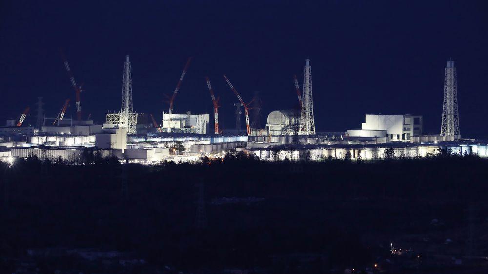 Fukushima-anlegget fotografert syv år etter jordskjelven som skapte eksplosjoner og smelting i reaktorene.