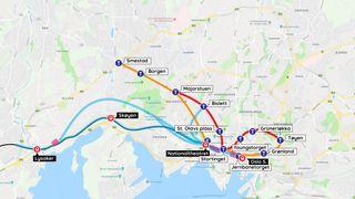 Oslo sentrum tåler ikke mer busstrafikk - her er knuten ingeniørene må løse