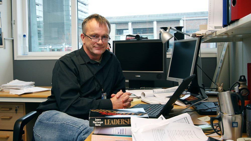 Jan Ketil Arnulf, BI-professor ved institutt for ledelse og organisasjon.