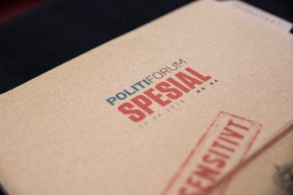 Politiforums utgave som kommer ut 3. mai 2018