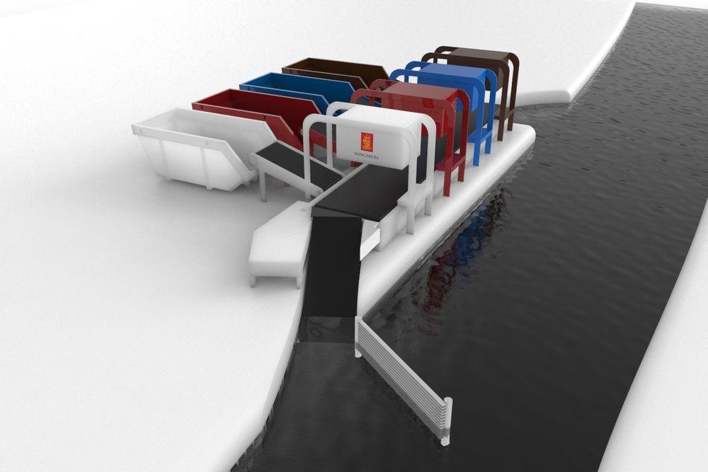 Veldig mye av plasten som havner i havet er ført dit av elver. Av dem står kun 10 for hele 90 prosent. We're Extreme vil derfor sette renseanlegg langs elvebreddene på de største elvene. Vannet ledes til et sorteringsanlegg der skannerteknologi skiller mellom ulike typer plast og sorterer. Det gir god resirkuleringsgrad og sikrer lønnsom drift.