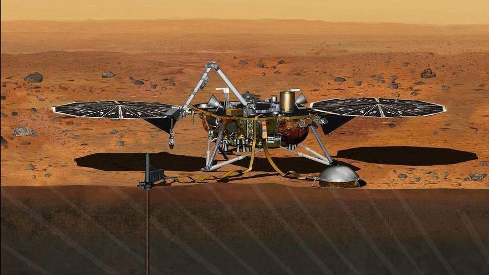 Lørdag ettermiddag sender NASA denne sonden mot Mars for å undersøke planetens indre.