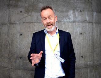 Amund Djuve, sjefredaktør i DN.