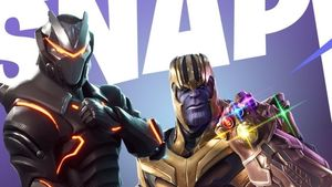 Thanos invaderer Fortnite Battle Royale