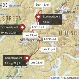 Lars Monsen, Sommeråpent, NRK, Årdal, Utladalen