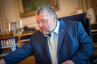 Morten Wold (Frp) er mediepolitisk talsmann i partiet. Han er også 2. visepresident på Stortinget.