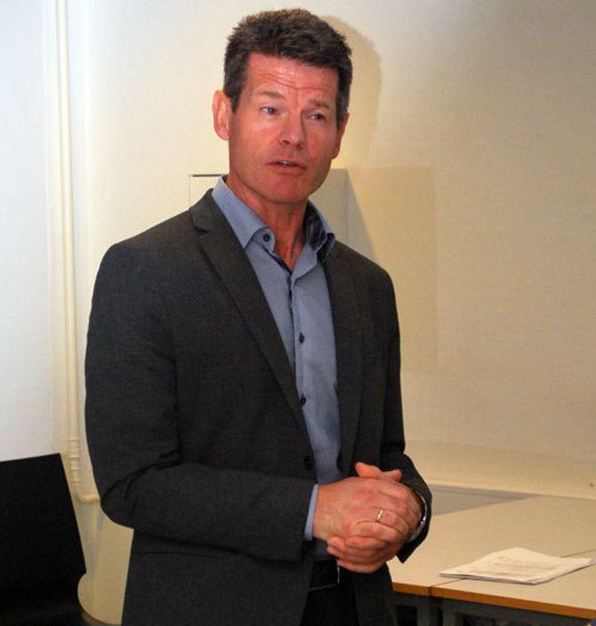 Bent Ronny Mikalsen, forbundsleder i Norsk Radiografforbund