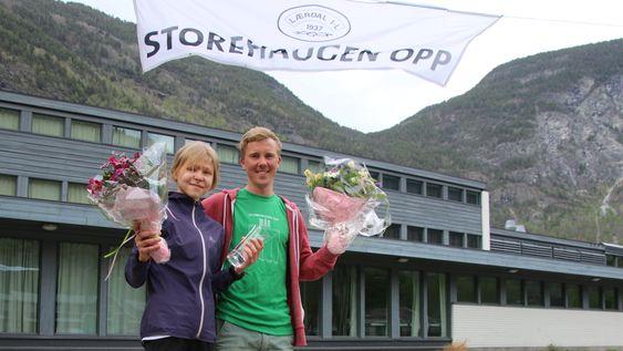 Storehaugen Opp, Lærdal, 2018, 10-årsjubileum, Elisabeth Hildenes, Erland Eldrup