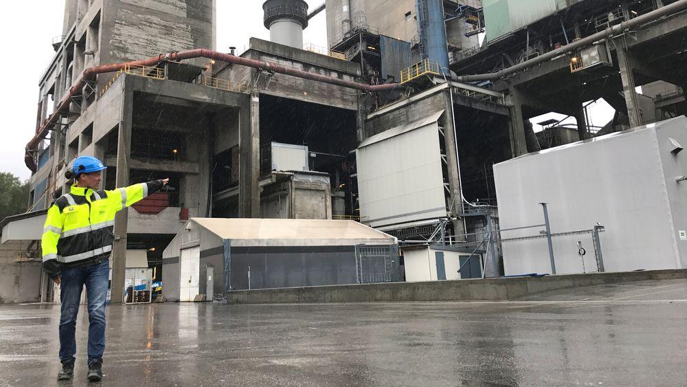 Norges største sementfabrikk, Norcem, får støtte til et forprosjekt for planene om CO2-håndtering.