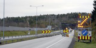 - For usikkert med ledebil i tunnel