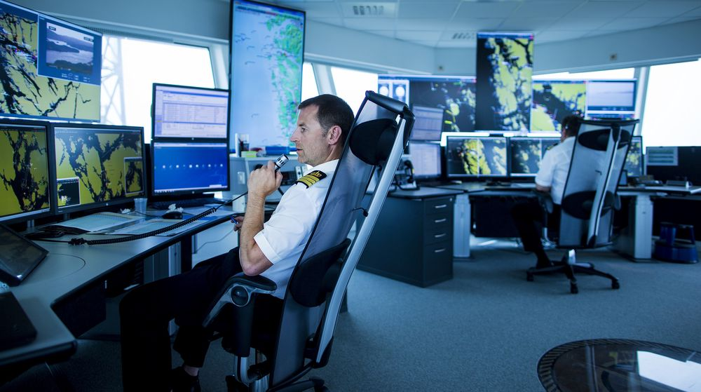 Fedje VTS. følge en rapport fra DNV GL er det høy ulykkesrisiko i store deler av området som dekkes av sentralen.