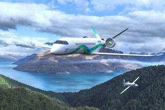 Zunum er en av aktørene som jobber med å utvikle elektriske fly.