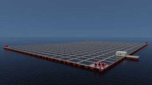 Moss Maritime kaster seg inn i teknologikappløpet for flytende solkraft