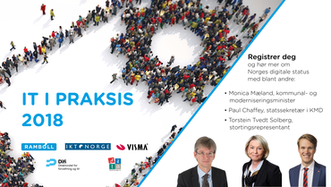 «IT i praksis 2018» - Norges digitale status