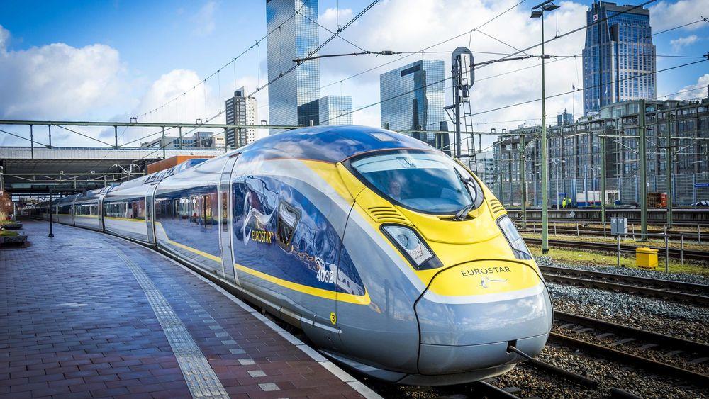Siemens Velaro Eurostar er et av togene som kan oppnå hastighetene SJ ønsker seg. Her ved Rotterdam sentralstasjon i februar.