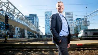 Han leder an i Europas åpning for økt konkurranse i jernbanen. Nå vil Crister Fritzson kjøre flere tog i Norge