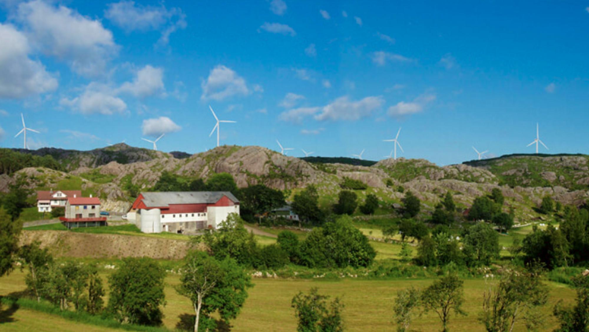 Vindparken er lokalisert i Hå og Bjerkreim kommuner, og vil til sammen ha en installert effekt på cirka 295 MW. Årsproduksjonen på cirka 1000 Gwh (1 Twh) tilsvarer årsforbruket til cirka 50.000 husholdninger.