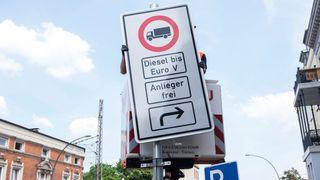 I neste uke innfører Hamburg dieselforbud for å bedre luftkvaliteten