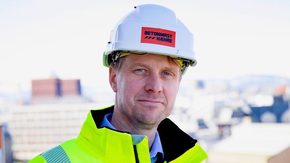 Jørgen Evensen i Betonmast Hæhre er en av sjefene i byggebransjen som tjener mest.