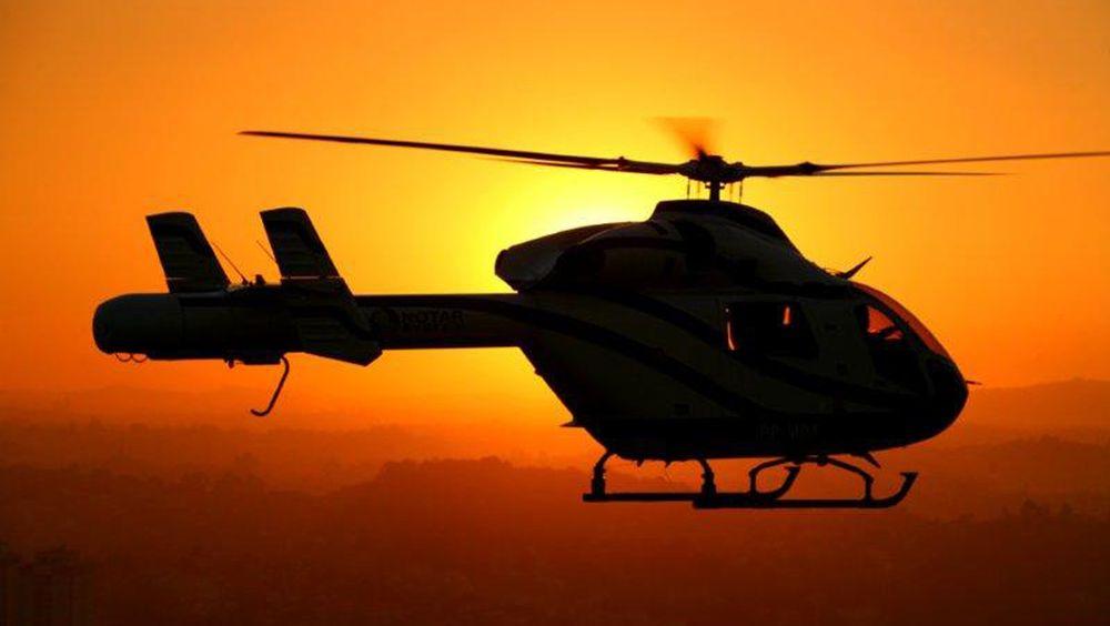 MD 902 Explorer har en lett gjenkjennbar hale, med dyse i stedet for rotor bakerst.