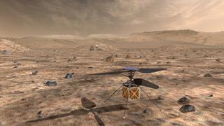 Mars-helikoptre er planlagt fir å hjelpe til med studier av den røde planeten.