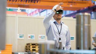 Slik bygger Aker Solutions komplekse produkter med hologrammer