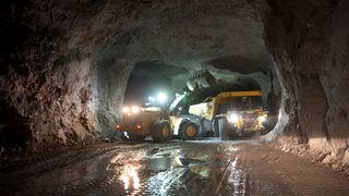 Inne i denne gamle kalkgruven i Breivik i Telemark vil NOAH lagre 800.000 tonn farlig uorganisk avfall i året.