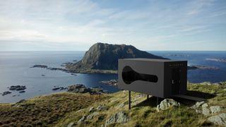 Den norske skipsdesignerens glassfiberhytter skal lokke turister ut i norsk natur
