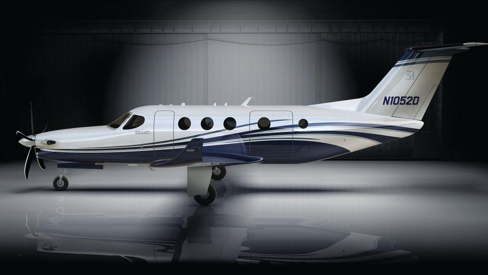 Cessna har designet en ny turboprop fra blanke ark. Det heter Denali.