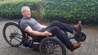 Ingeniørens hjemmelagde trehjulsykkel kan kjøre 600 kilometer på én oppladning