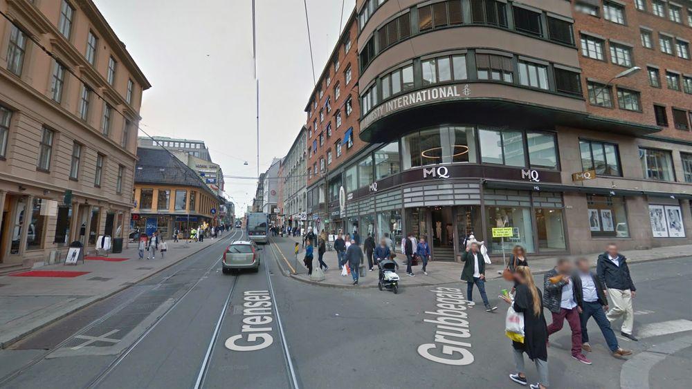 Slik ser Google Street View ut utenfor TUs lokaler i Oslo.