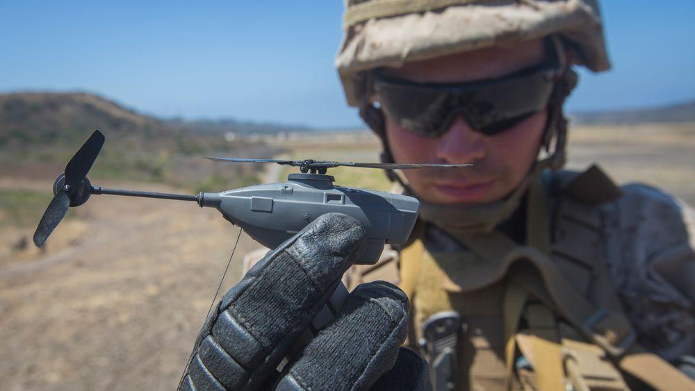 FLIR Black Hornet Personal Reconnaissance System (PRS) vil etter hvert tas i bruk i alle amerikanske hæravdelinger.