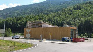 Statsbygg bygger ny trafikkstasjon for Statens vegvesen på Gol gjennom en heldigital byggeprosess.