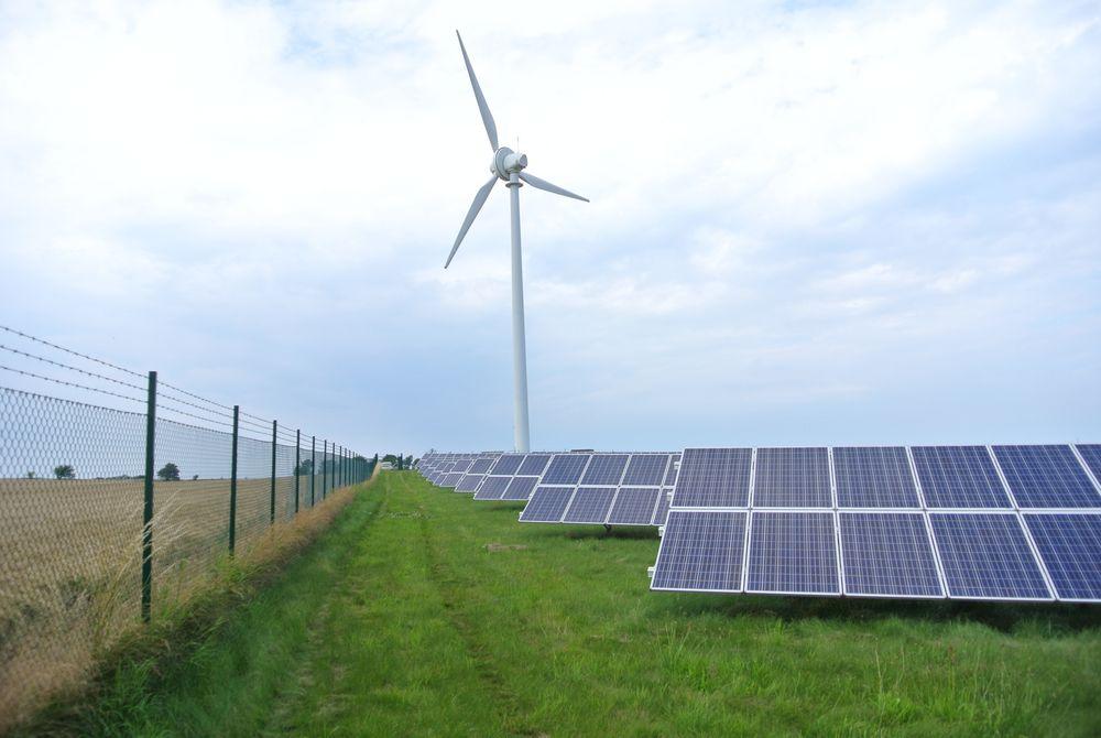 Her produseres energien til Simris, Sveriges første 100 prosent lokale fornybare energisamfunn.
