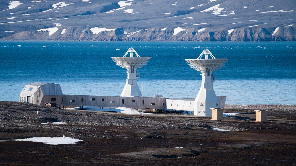 NYTT: Det nye geodetiske observatoriet i Ny-Ålesund står nå klart.