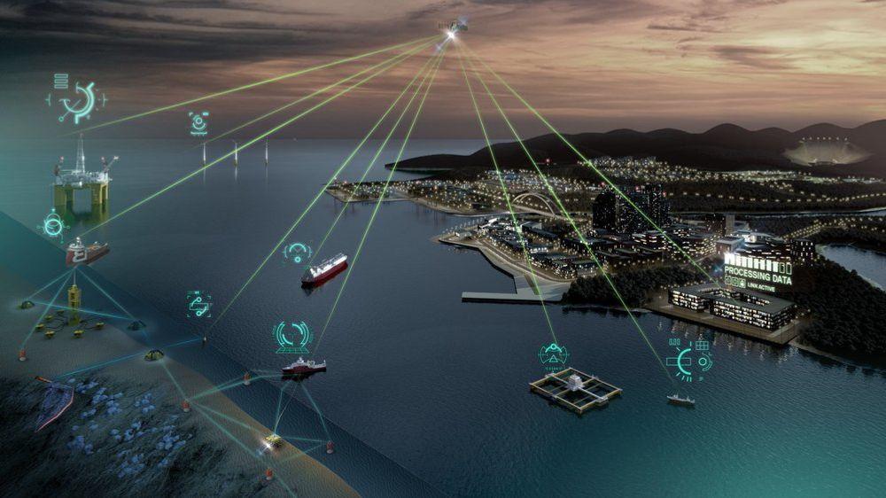 Kongsberggruppen ser på norskekysten som et laboratorium for nye og mer bærekraftige løsninger for skipsfarten. Digitalisering er selvsagt en viktig del av verktøykassa.