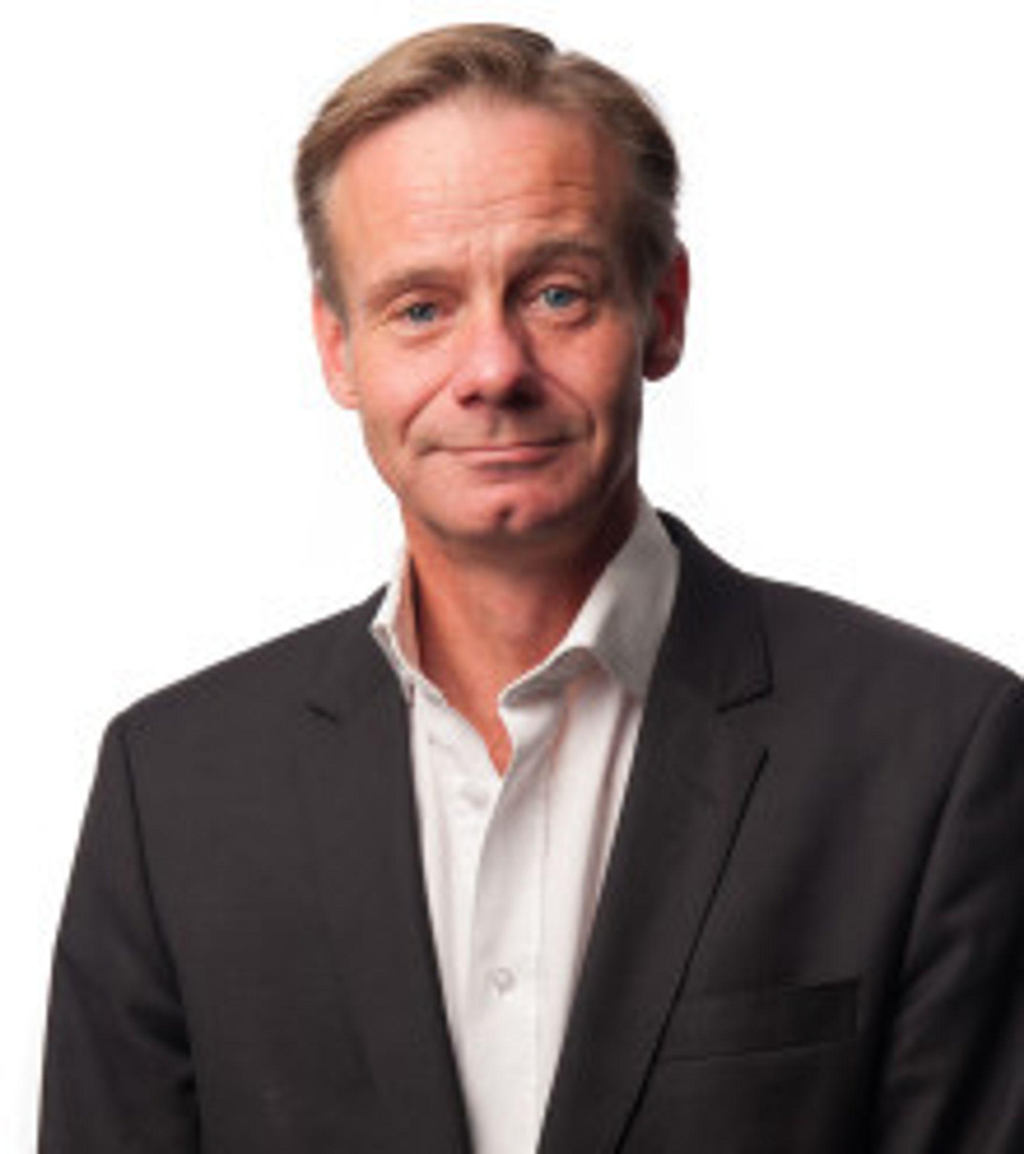 Cato Asperud er kommunikasjonssjef i Sporveien.