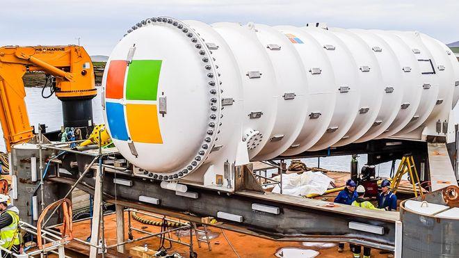 Microsoft har etablert eksperimentelt datasenter i Nordsjøen