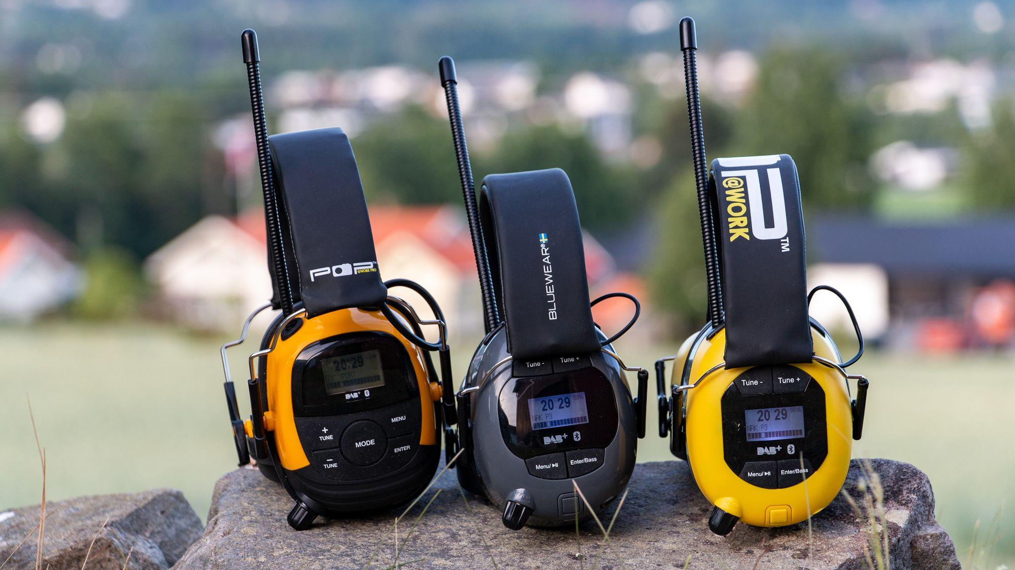 Fasjonable SAMLETEST: Hørselvern med DAB+ og Bluetooth - Tek.no ZK-11