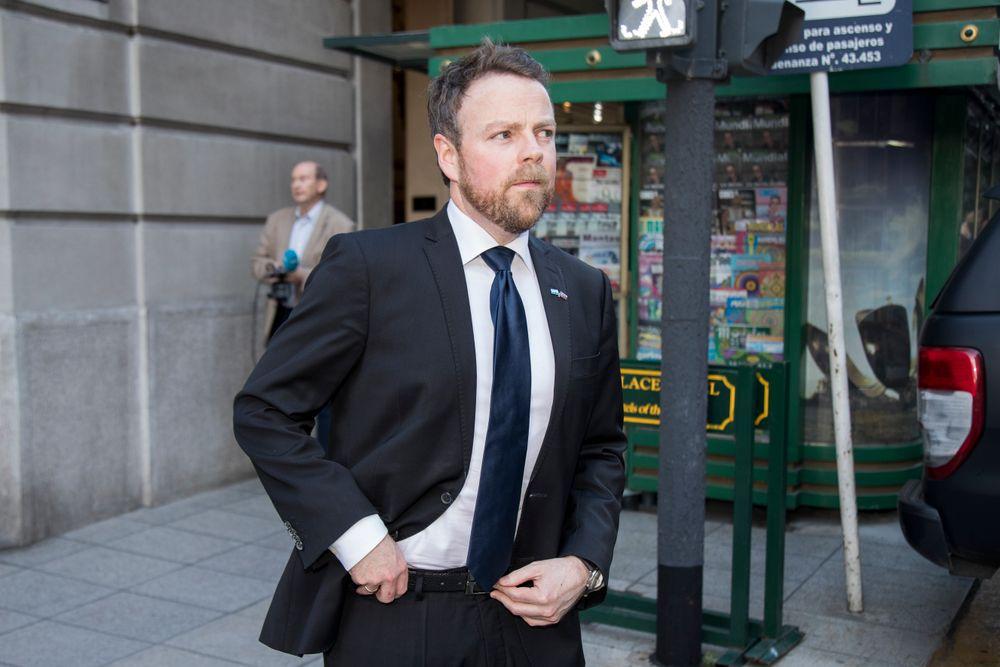 Næringsminister Torbjørn Røe Isaksen, under et tidligere besøk i Argentina.