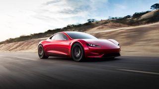 Tesla monterer rakettmotorer på den nye roadsteren